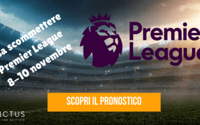 Pronostici Premier League: 8-10 novembre