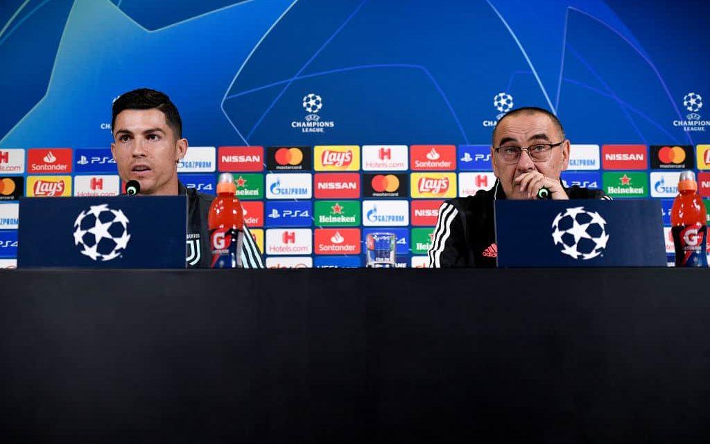 """Sarri parla del """"caso"""" Ronaldo: """"Ha dato tutto, ci sta che si arrabbi"""""""