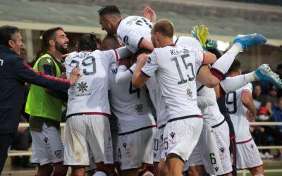 Cagliari da sogno! I sardi battono 2-0 l'Atalanta e ora sognano l'Europa