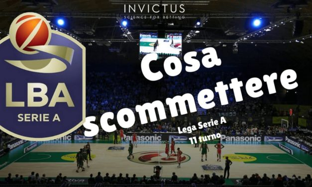 Pronostici basket Lega A: 11 turno