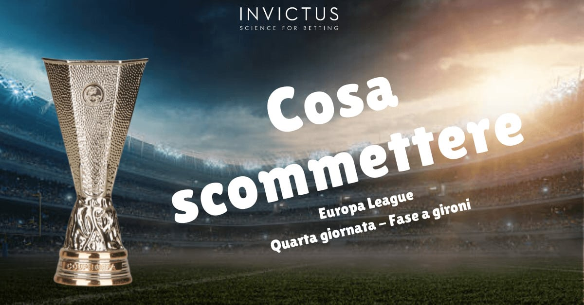 Pronostici Europa League: 4 giornata