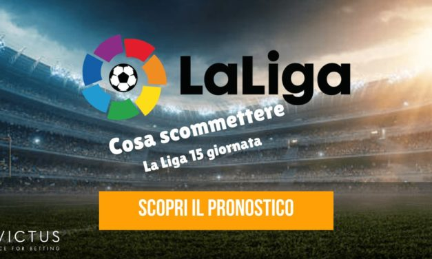 Pronostici Liga: 15 giornata