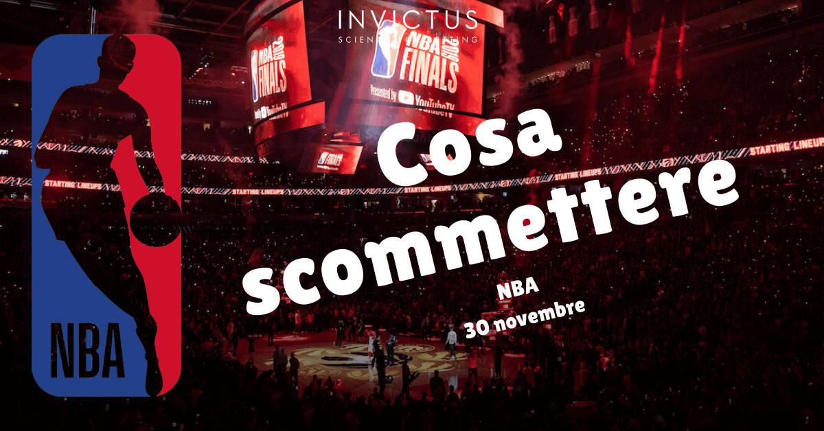 Pronostici NBA: 30 Ottobre