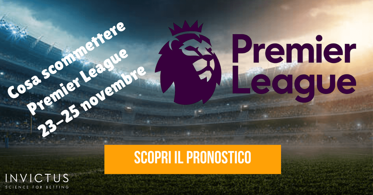 pronostici premier league 13 giornata