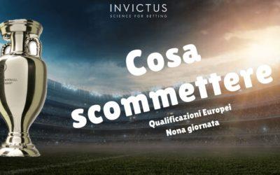Pronostici Qualificazioni Europei: 9 giornata