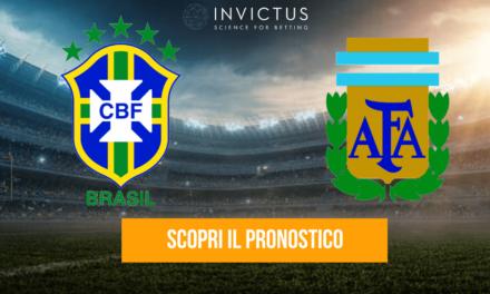 Brasile – Argentina: analisi tattica, statistiche e pronostico