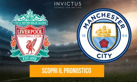 Liverpool – Manchester City: analisi tattica, statistiche e pronostico