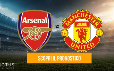 Arsenal – Manchester United: analisi tattica, statistiche e pronostico