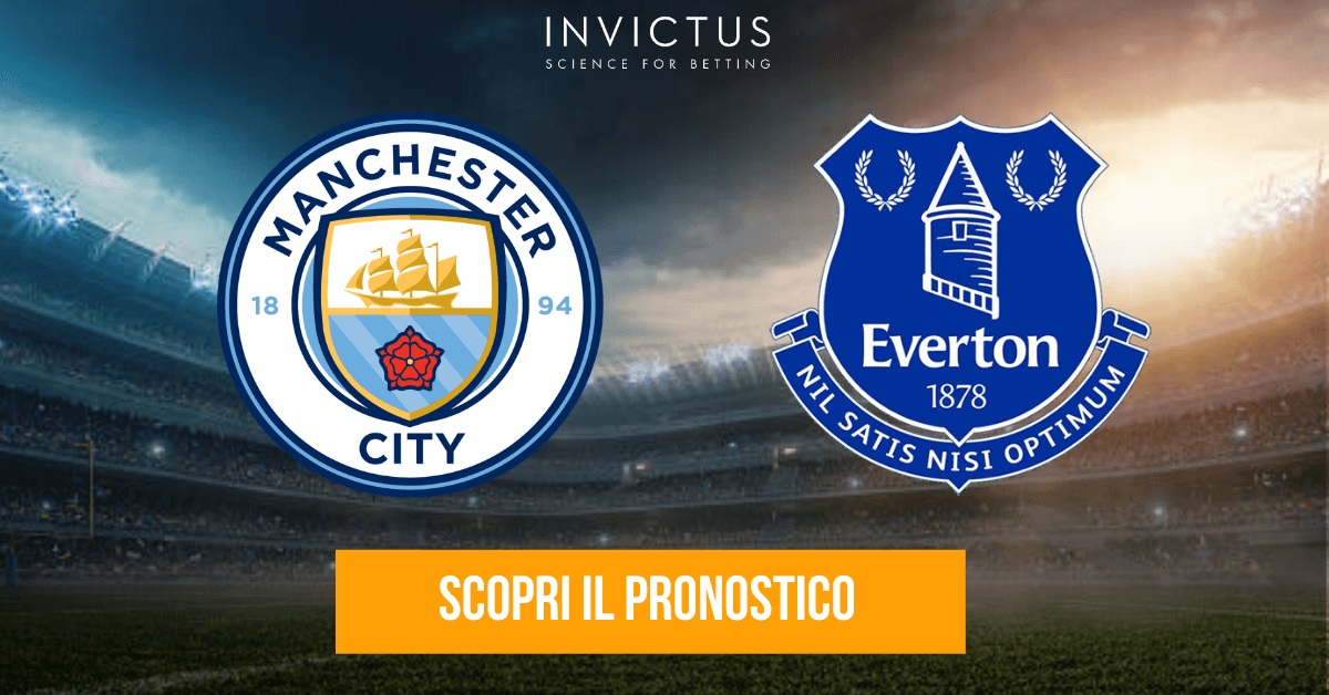 pronostico manchester city - everton