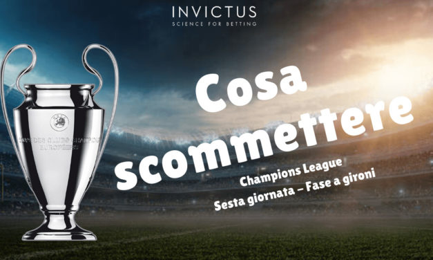 Pronostici Champions League: 6 giornata