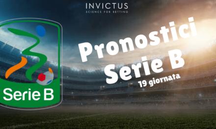 Pronostici Serie B: 19 giornata