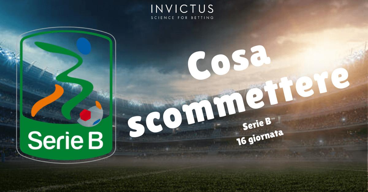 Pronostici Serie B: 16 giornata