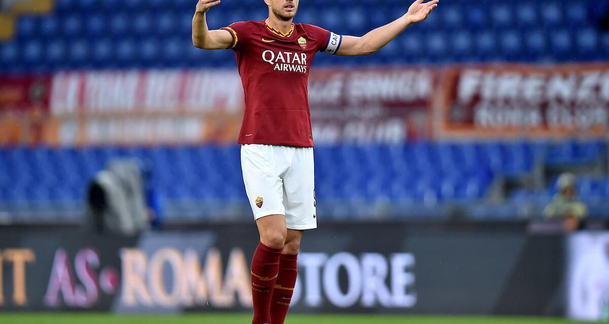 La Roma perde pezzi: Dzeko a rischio per la sfida contro l'Inter