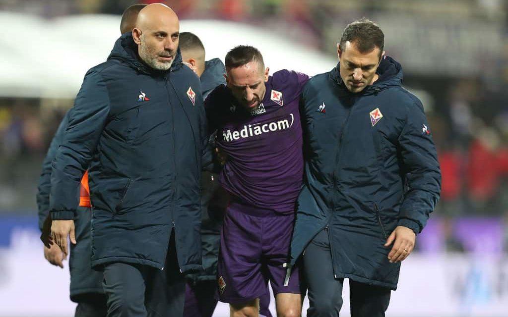 Altro infortunio per Ribery: lesione al legamento della caviglia per il francese