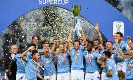 Lazio da sogno! 3-1 alla Juventus e quinta Supercoppa italiana conquistata