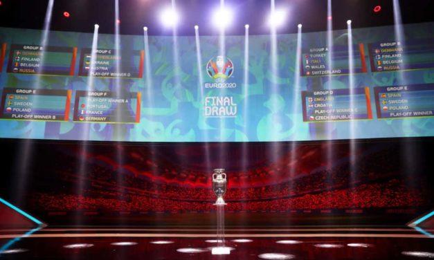 Euro2020: l'Italia nel girone con Svizzera, Turchia e Galles