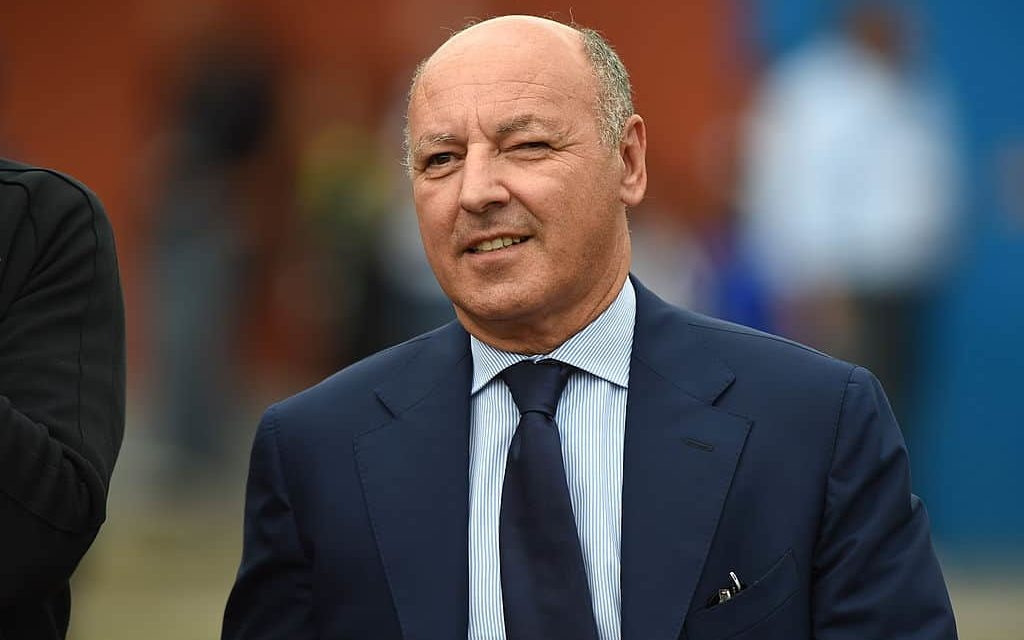 """Marotta parla dell'Inter: """"Conte è un vincente. Non c'è problema per il rinnovo di Lautaro"""""""
