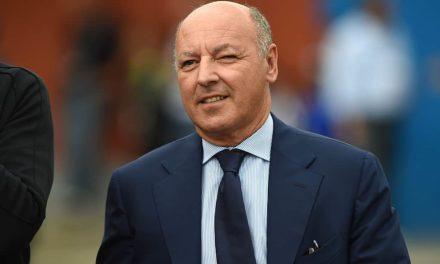 """Marotta: """"Scudetto? Probabilmente lo vincerà la Juventus, hanno la rosa più competitiva"""""""