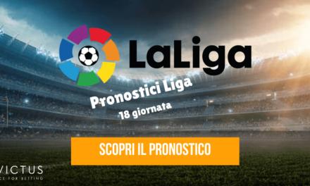 Pronostici Liga: 18 giornata