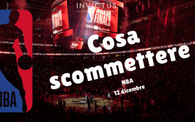 Pronostici NBA: 12 Dicembre