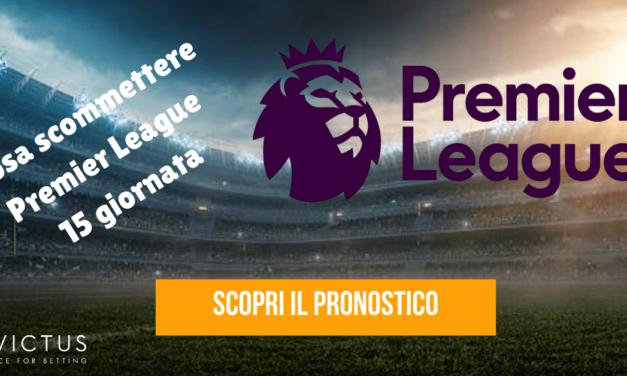 Pronostici Premier League: 15 giornata