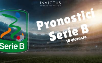 Pronostici Serie B: 18 giornata