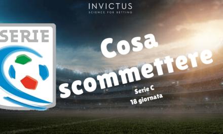 Pronostici Serie C: 18 giornata