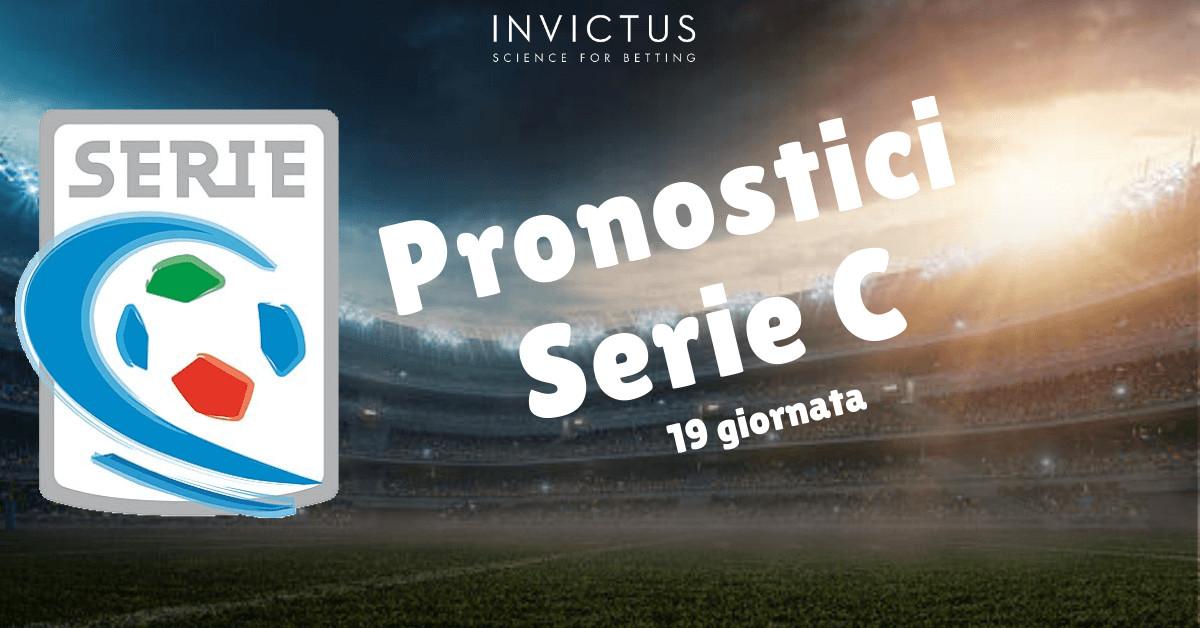 Pronostici Serie C: 19 giornata