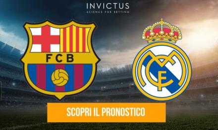 Barcellona – Real Madrid: analisi tattica, statistiche e pronostico