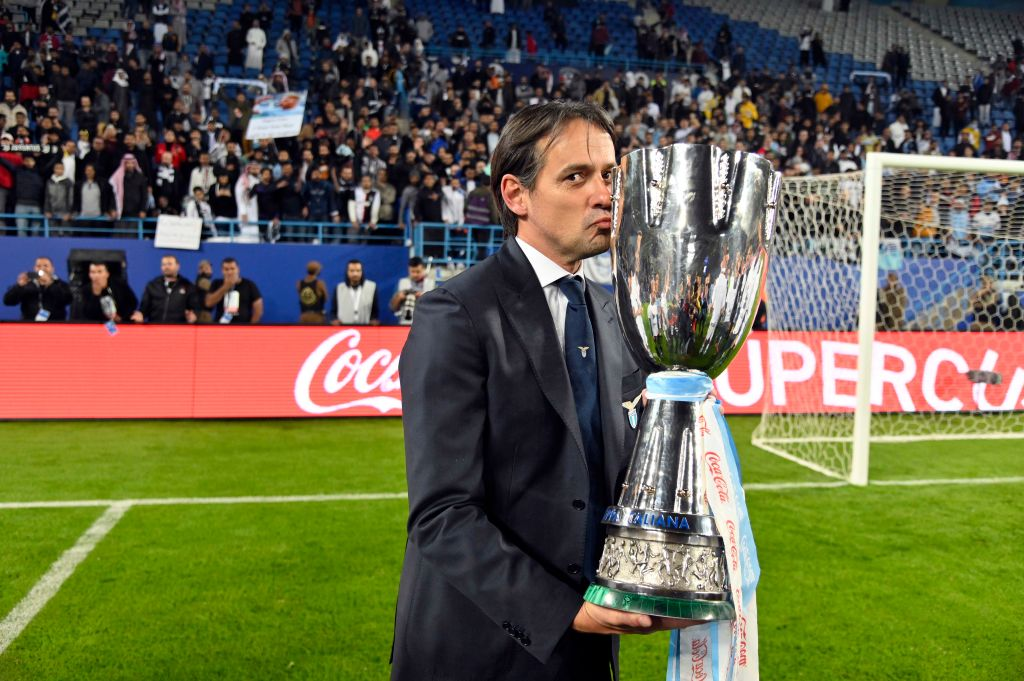 Inzaghi Lazio Lotito