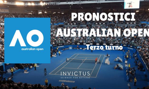 Pronostici Australian Open: terzo turno