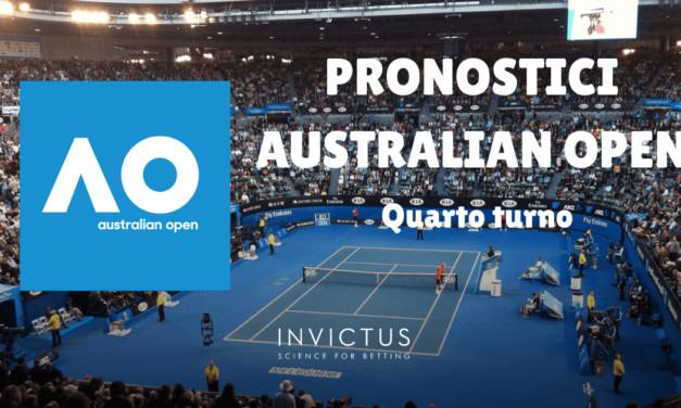 Pronostici Australian Open: quarto turno