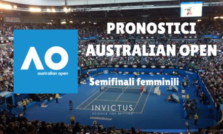 Pronostici Australian Open: Semifinali Femminili