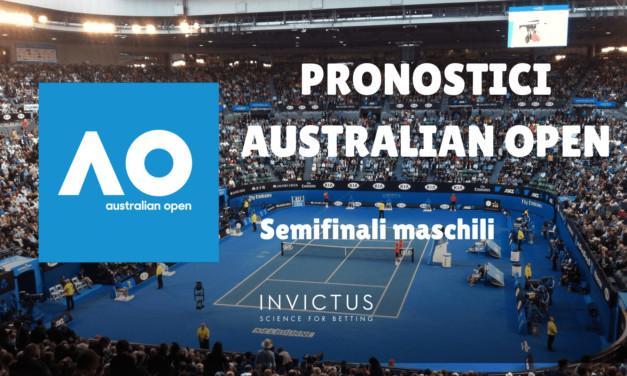 Pronostici Australian Open: Semifinali Maschili
