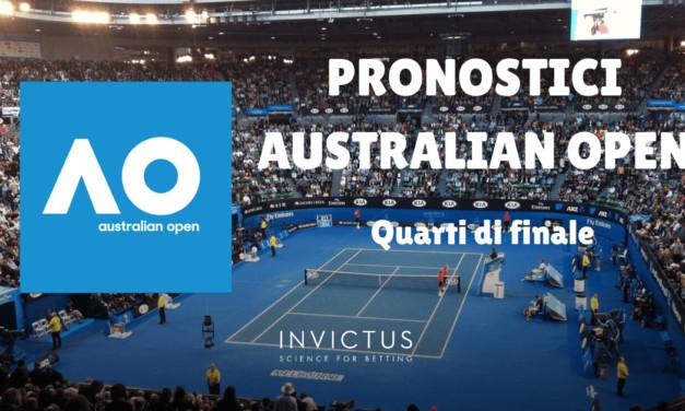 Pronostici Australian Open: quarti di finale