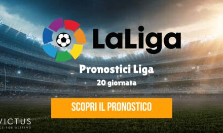 Pronostici Liga: 20 giornata