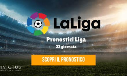 Pronostici Liga: 22 giornata