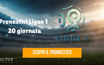 Pronostici Ligue 1: 20 giornata