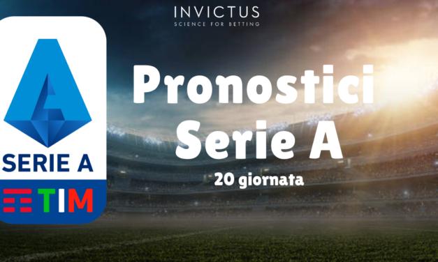 Pronostici Serie A: 20 giornata