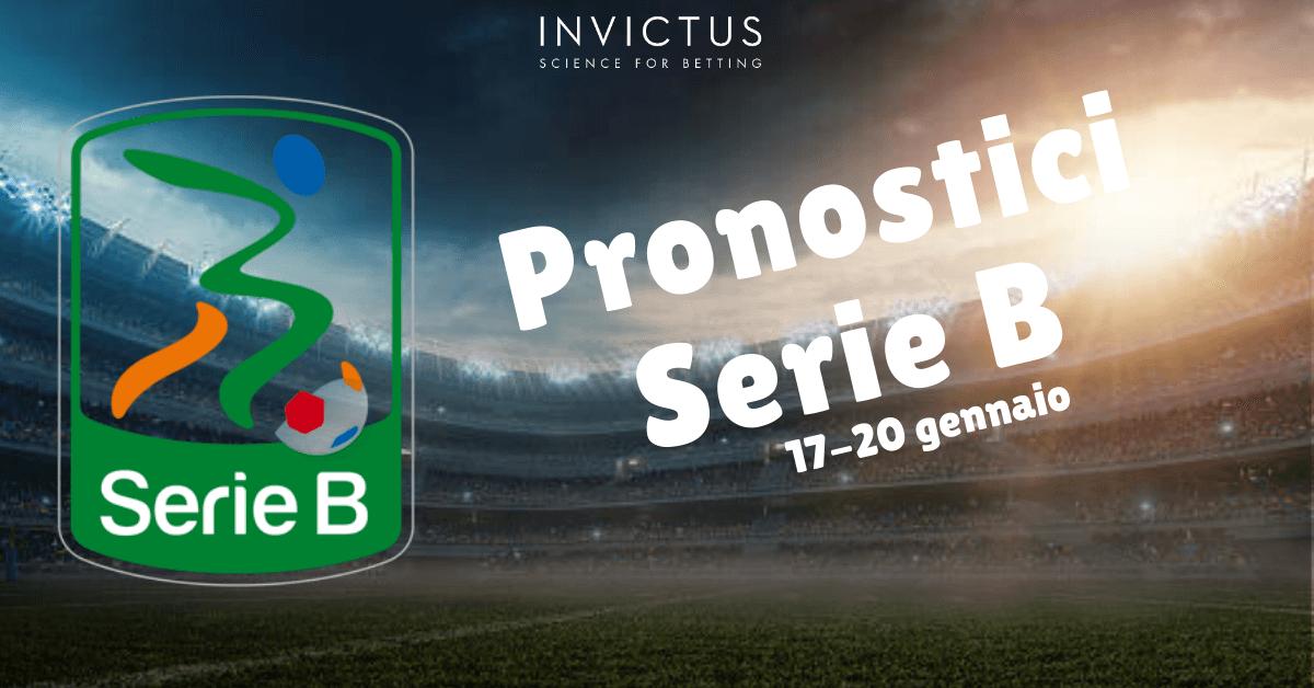 Pronostici Serie B del 17-20 Gennaio