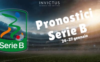 Pronostici Serie B del 24-27 gennaio