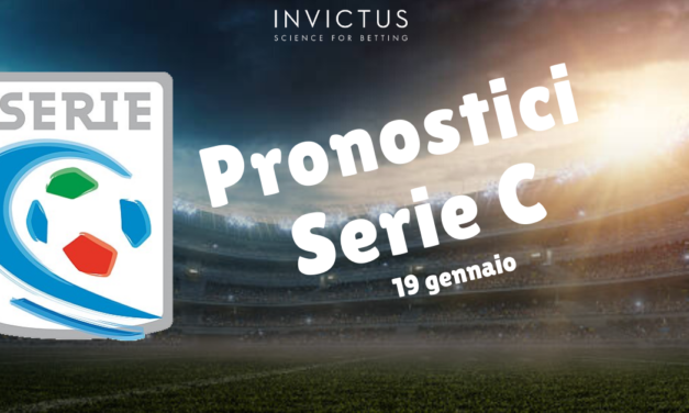 Pronostici Serie C: 18-20 Gennaio