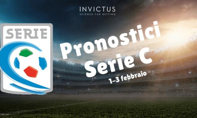 Pronostici Serie C : 1 – 3 Febbraio