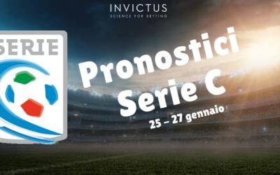 Pronostici Serie C: 25 – 27 Gennaio