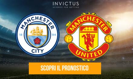 Manchester City – Manchester United: analisi tattica, statistiche e pronostico