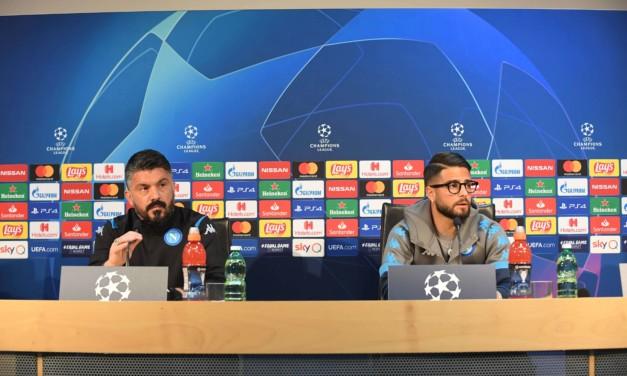 """Gattuso e Insigne pronti per la Champions: """"Il Barcellona sta tornando quello di alcuni anni fa, ma il Napoli non deve avere paura"""""""