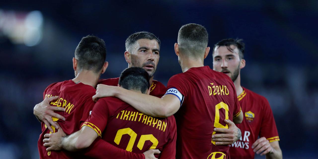 Le pagelle di Gent-Roma: Mkhitaryan salva ancora i giallorossi, bene Kluivert. Mancini disastroso