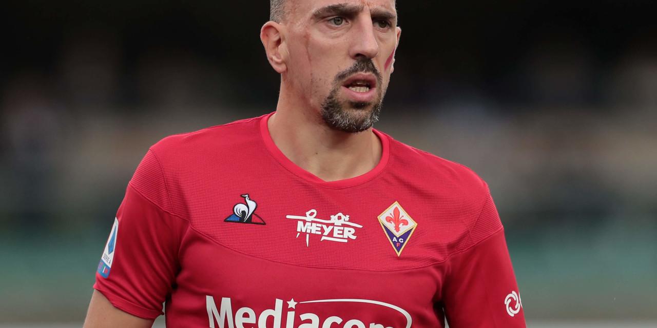 Fiorentina: Ribery torna in campo e lancia la sfida ad Ibra