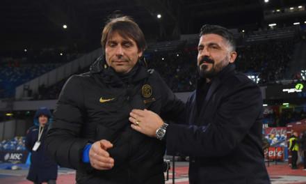 Inter-Napoli: le scelte di Conte e Gattuso