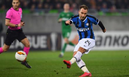 Le pagelle di Roma ed Inter: Perez unica gioia giallorossa, Eriksen trova la prima rete